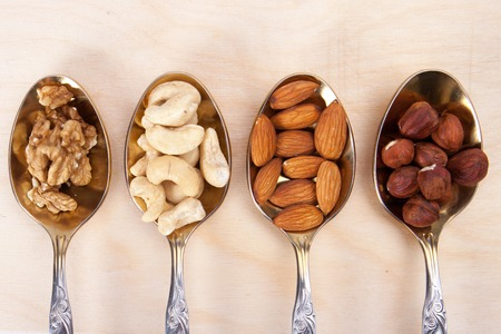 Photo for mixed nuts - Royalty Free Image