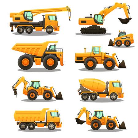 Illustration pour Construction equipment set. - image libre de droit