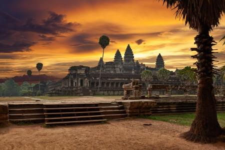 Photo for Angkor Wat at sunset - Royalty Free Image
