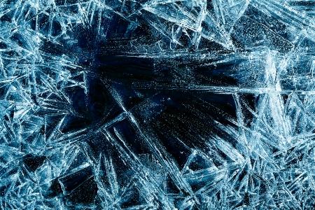 Foto de the abstract background of ice structure - Imagen libre de derechos