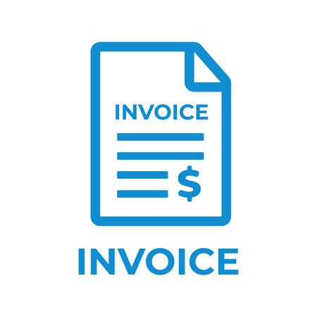 Photo pour Invoice icon. Payment and billing invoices vector icon - image libre de droit