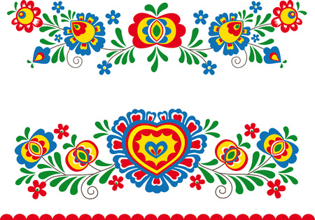 Illustration for Folk ornaments - Royalty Free Image