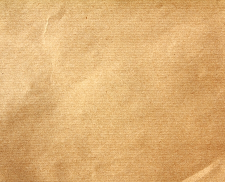 Textured of obsolete  packaging brown paper background