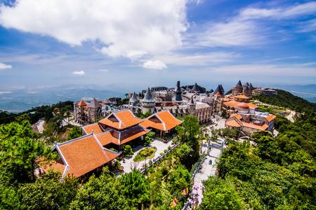 Photo pour Bana Hill Danang  Vietnam - image libre de droit