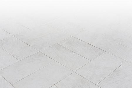 Foto de Stone pattern on tile floor with geometric line for background. - Imagen libre de derechos