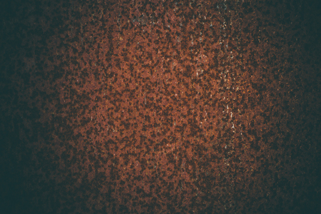 Photo for Rusted metal background in vintage style. Vintage metal texture. Abstract metal texture and background for designers. Old rusted metallic door. Close up view of corroded and rusted metal. - Royalty Free Image