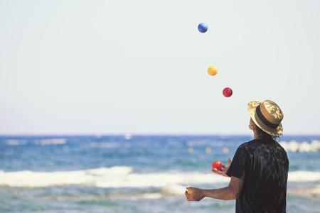 Foto de Malabars in front of the beach - Imagen libre de derechos
