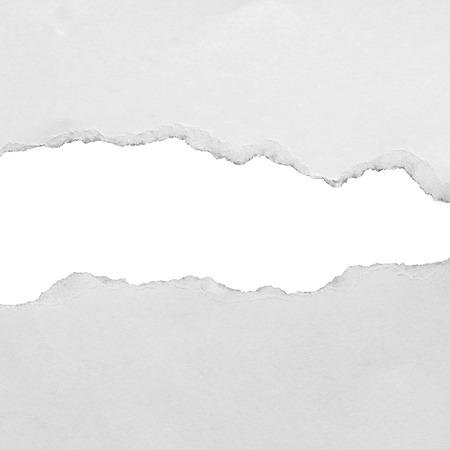 Foto de pieces of torn paper background, copy space. - Imagen libre de derechos