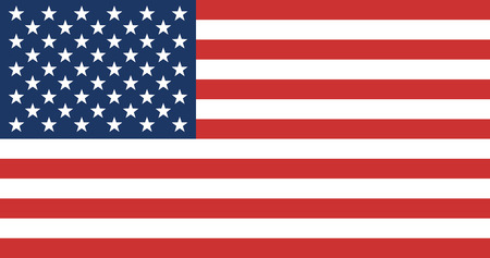 Foto de American Flag. United State of America Flag. Vector Illustration. - Imagen libre de derechos