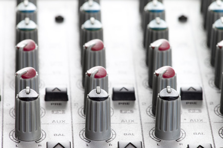 Photo for Audio mixer - Royalty Free Image
