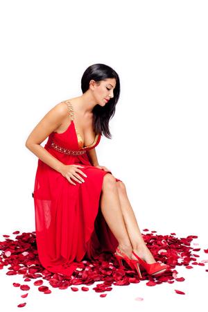Foto de Beauty in Red - Imagen libre de derechos