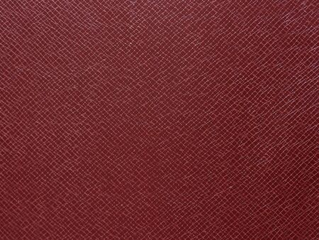 Red leather texture closeup