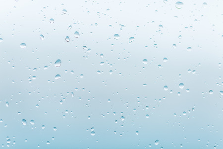 rain drops on the glass window