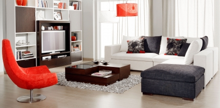 Photo for modern living room - Royalty Free Image