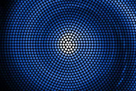 Ilustración de Illustration of Spiral Galaxy. Vector. abstract blue spiral - Imagen libre de derechos