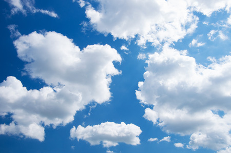 Photo for White clouds in blue sky. - Royalty Free Image