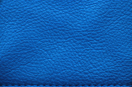 Foto de Blue leather texture or background - Imagen libre de derechos