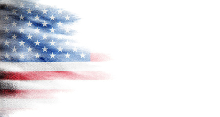 Photo pour Flag of USA - image libre de droit