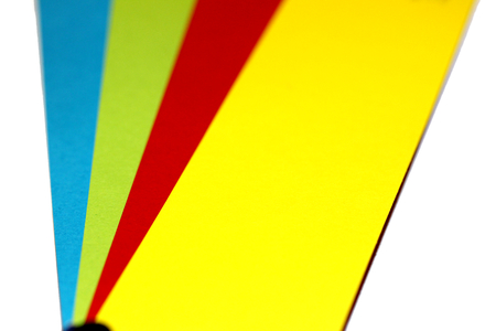 Colourful abstract background of colors selector closeup