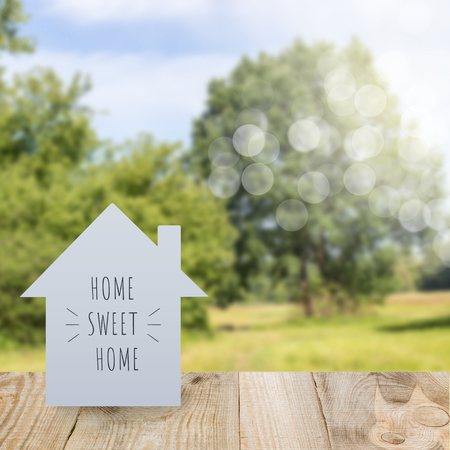 Photo for home sweet home - Royalty Free Image