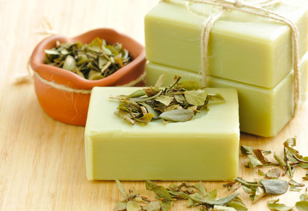 Photo for Natural handmade soap. Spa - Royalty Free Image