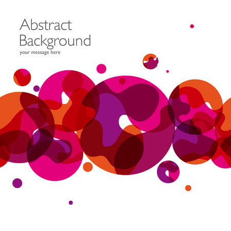 Photo pour Abstract background with vector design elements. Illustration - image libre de droit