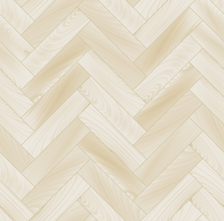 Illustration pour Realistic white wooden floor chevron parquet seamless pattern - image libre de droit