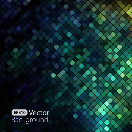 Illustration pour Bright colorful mosaic background - image libre de droit