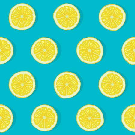 Ilustración de lemon seamless pattern - Imagen libre de derechos