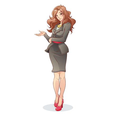 Illustration pour Business Woman - image libre de droit