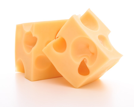 Photo pour cheese isolated on white background cutout - image libre de droit