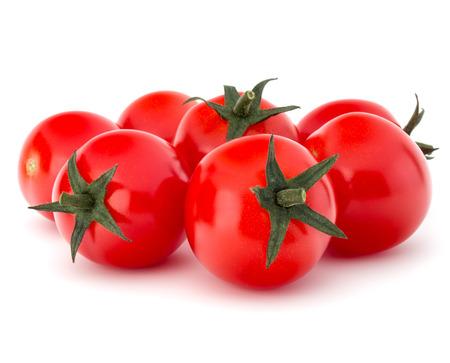 Photo pour fresh cherry tomato isolated on white background cutout - image libre de droit