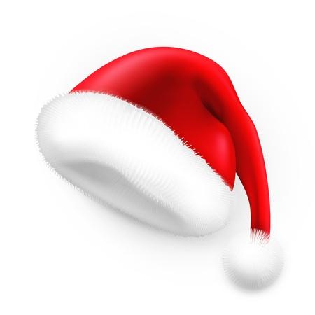 Illustration for Santa Claus hat - Royalty Free Image
