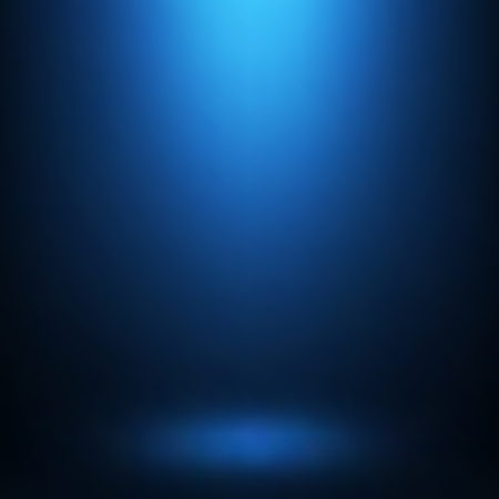 Ilustración de Abstract gradient blue, used as background for display your products - Imagen libre de derechos