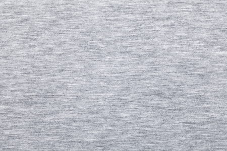 Foto de Real heather grey knitted fabric made of synthetic fibres textured background - Imagen libre de derechos
