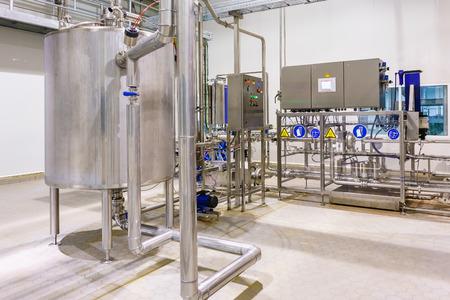 Foto de Factory and industrial production plant for the manufacture of beverages - Imagen libre de derechos