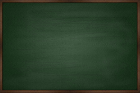 Photo pour Blank chalkboard blackboard - image libre de droit