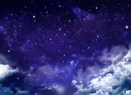 Foto de beautiful background, nightly sky - Imagen libre de derechos