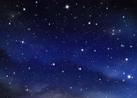 Foto de nightly starry sky - Imagen libre de derechos