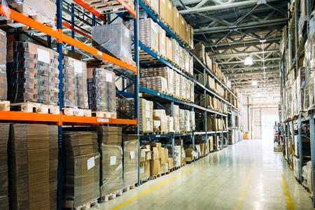 Photo pour Warehouse logistics is important - image libre de droit