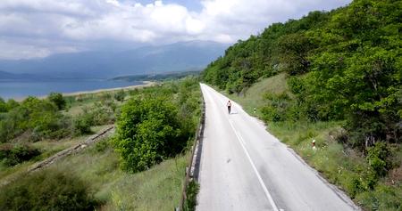 Photo pour prespa lake, macedonia - image libre de droit