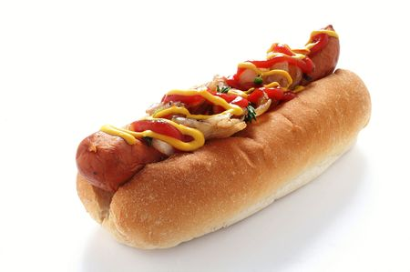 Photo for traditional hot dog - Royalty Free Image