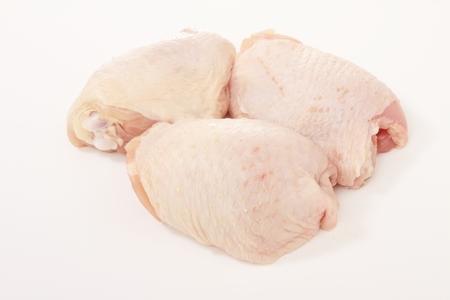 Photo pour fresh raw chicken pieces - image libre de droit
