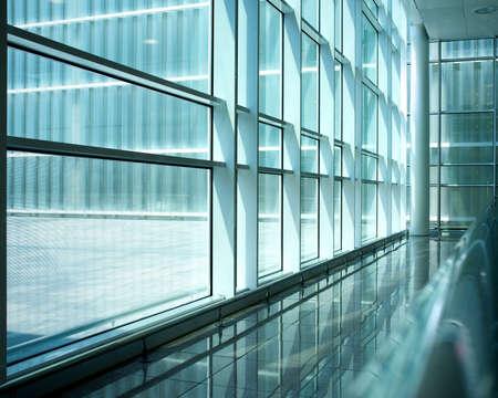 Foto de Inside of modern building. - Imagen libre de derechos