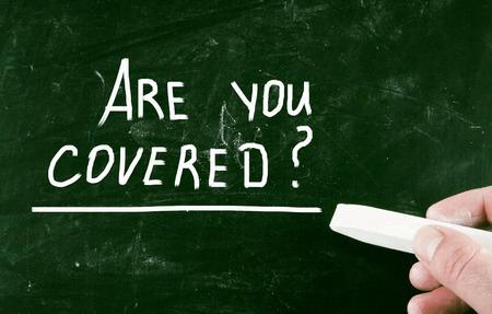 Photo pour are you covered? - image libre de droit