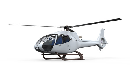 Foto de Helicopter Isolated - Imagen libre de derechos