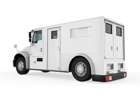Photo pour Armored Truck - image libre de droit