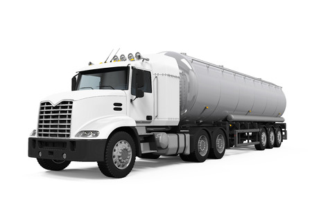 Photo for Fuel Tanker Truck - Royalty Free Image
