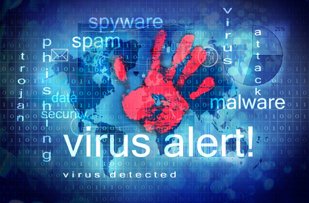 Foto de antivirus - Imagen libre de derechos