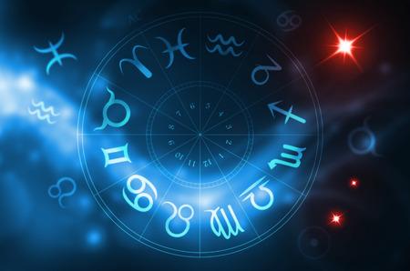 Foto de zodiac wheel - Imagen libre de derechos